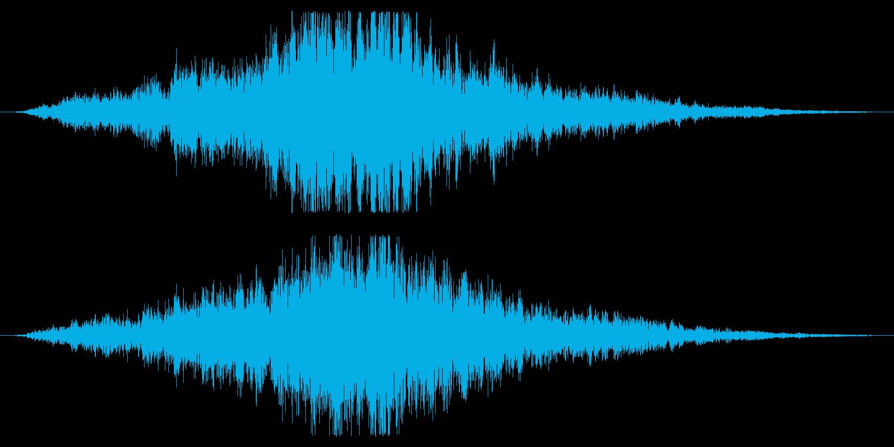 神秘的なクワイア合唱団の効果音です!1の再生済みの波形