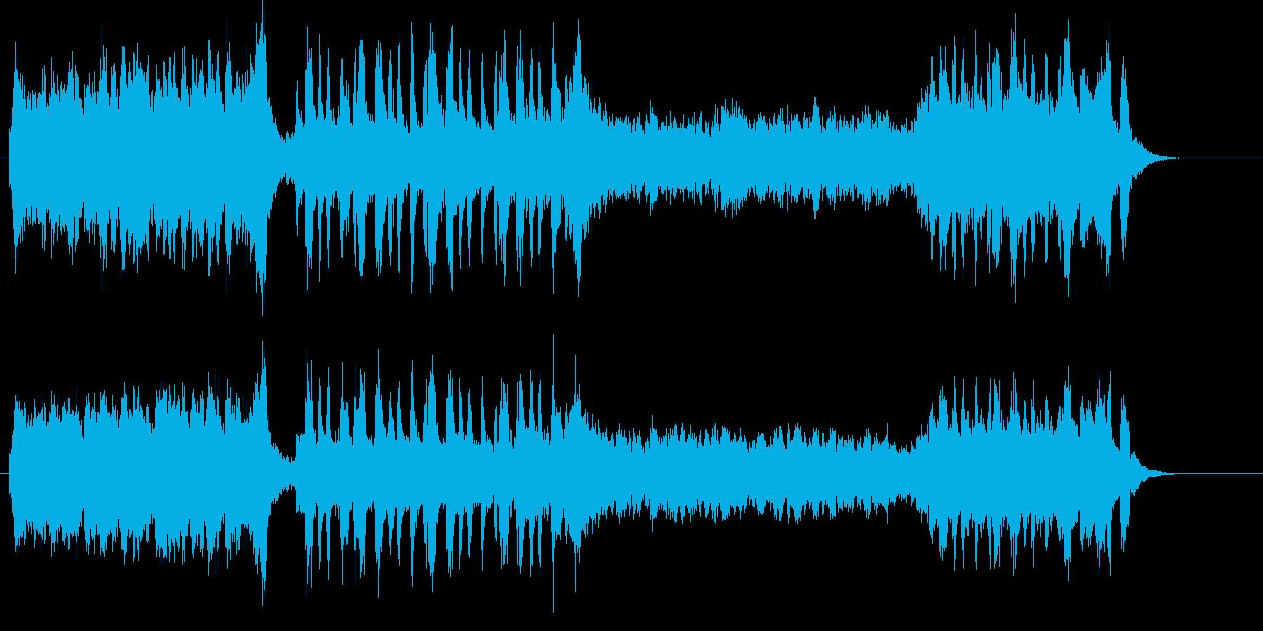 壮大なエンディングを物語るクラシカルの再生済みの波形