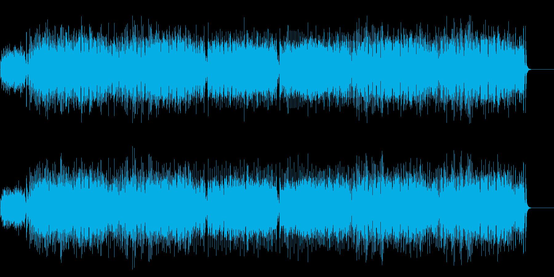 ピアノ・ミュージック・レビューの再生済みの波形