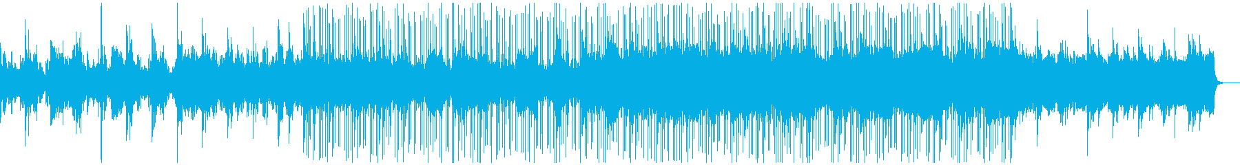 浮遊感のあるアンビエントエレクトロニカの再生済みの波形