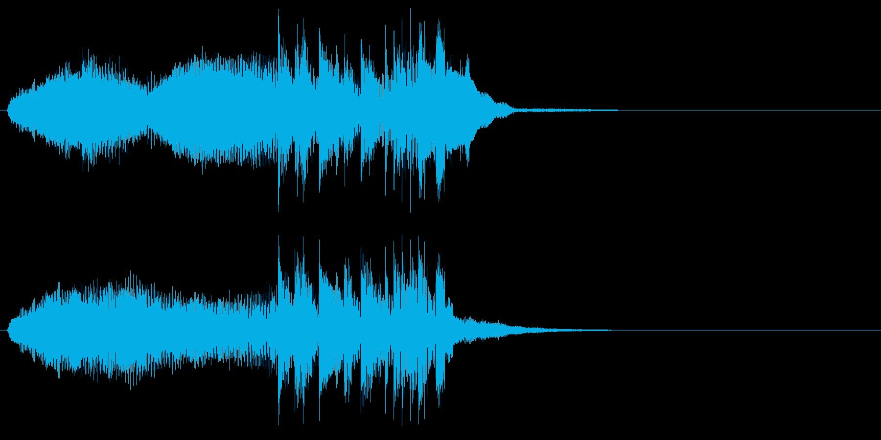 場面転換 クール 機械的 ニュースの再生済みの波形