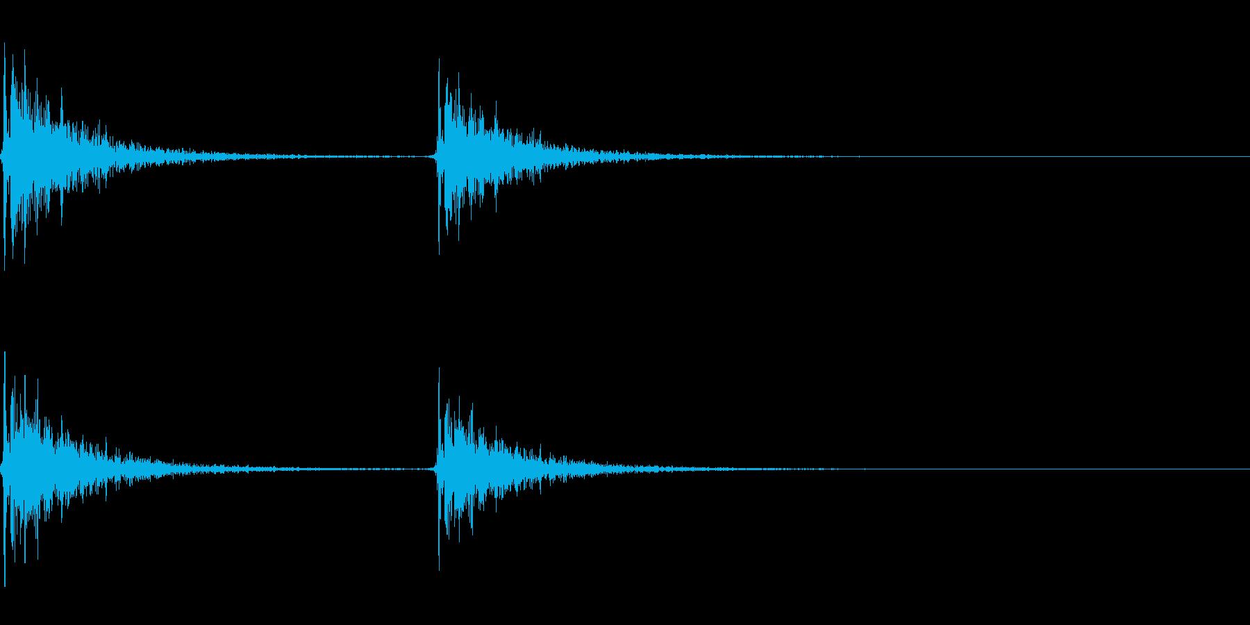 【SE 効果音】効果音その12の再生済みの波形