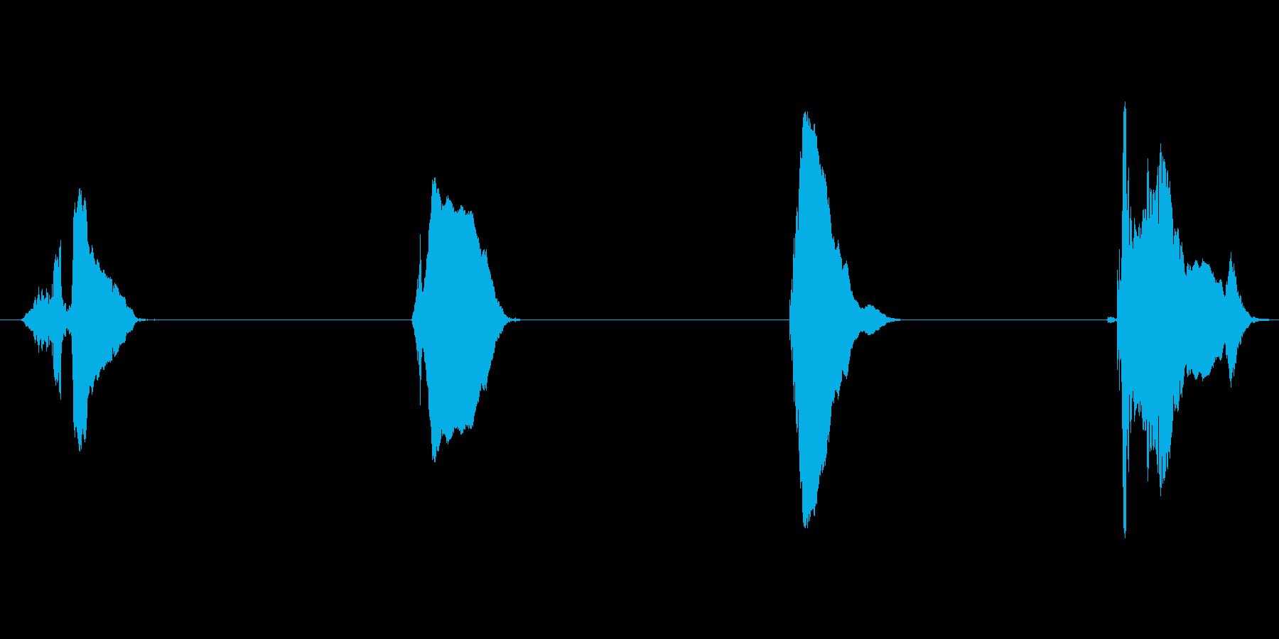 3・2・1 GO!(スリー・ツー・ワン…の再生済みの波形
