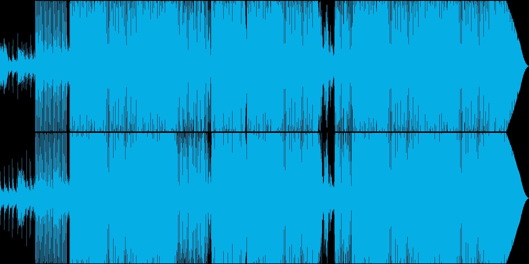 70'~80'年代のディスコ風09の再生済みの波形