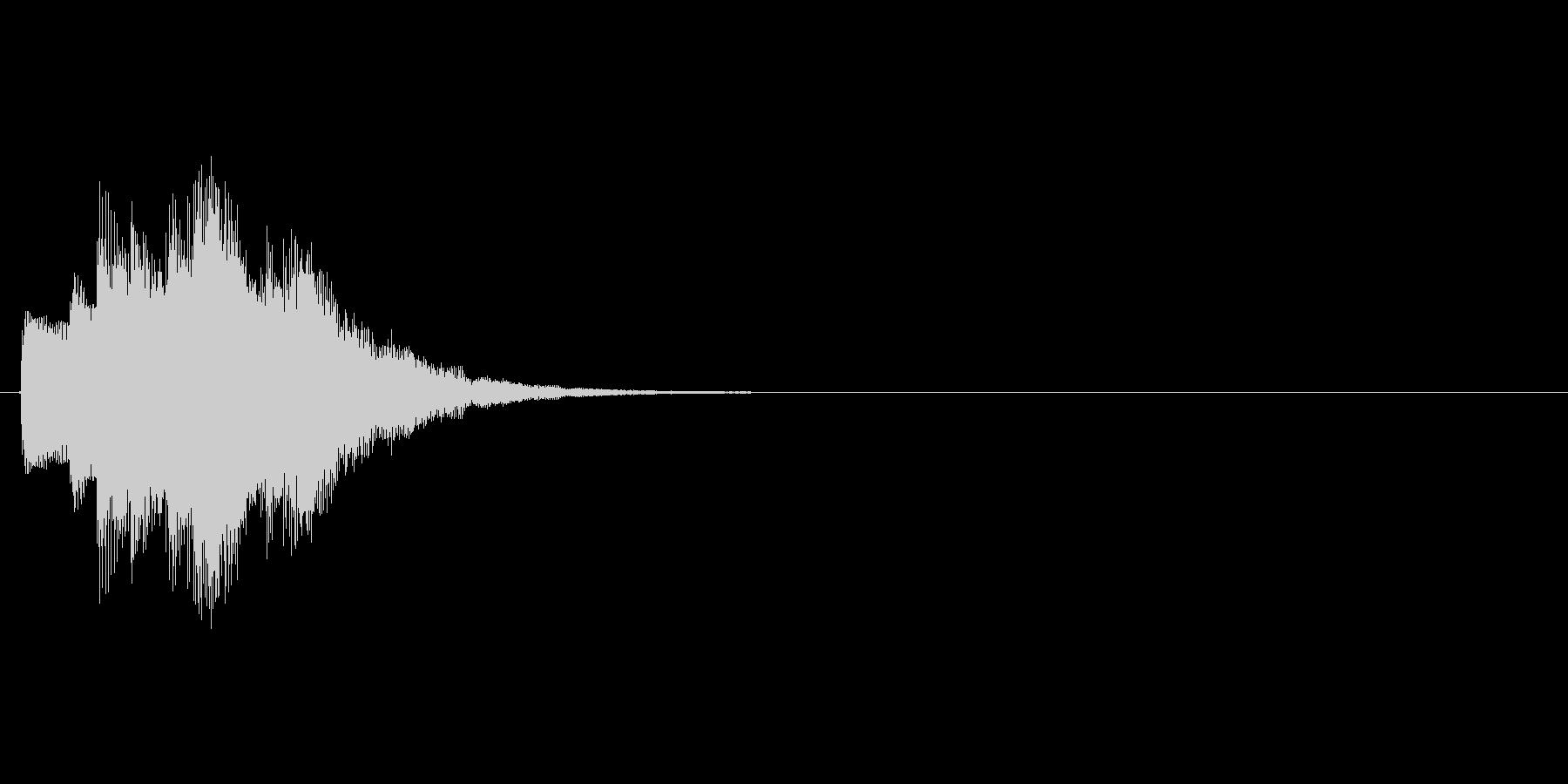 キラキラ↑(星、決定、システム音)の未再生の波形