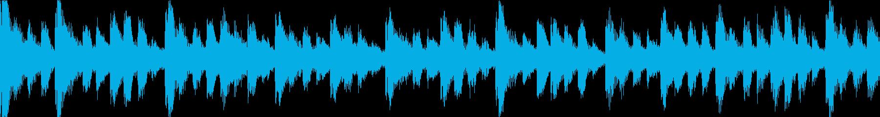 【ループC】かわいい感じのゆるやかテクノの再生済みの波形