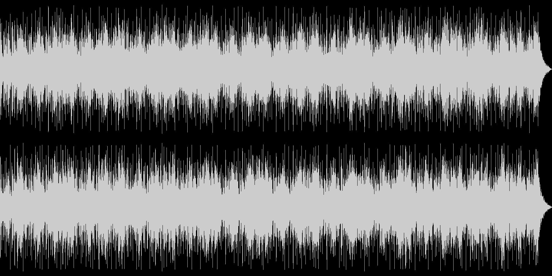 ダークなシーン向けベースとパーカッションの未再生の波形