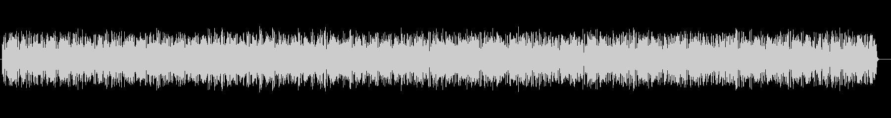 近未来的なシンセサイザーサウンドの未再生の波形