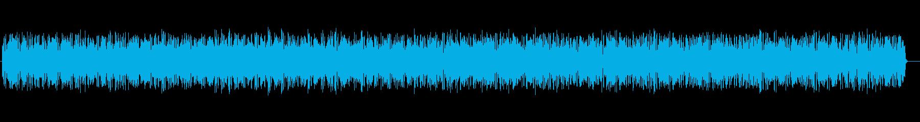 近未来的なシンセサイザーサウンドの再生済みの波形
