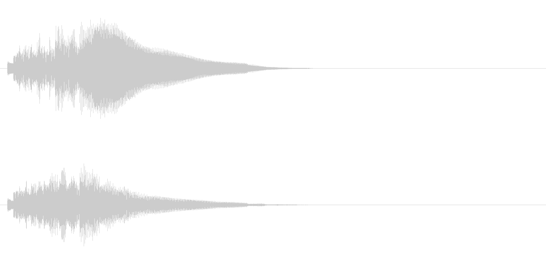 ジングル/SE(ほのぼの情報コーナー風)の未再生の波形