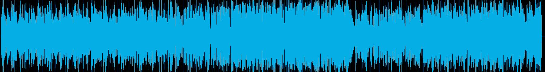 モルダウのジャズピアノの再生済みの波形