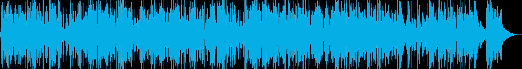 安らぐイージーリスニング曲の再生済みの波形