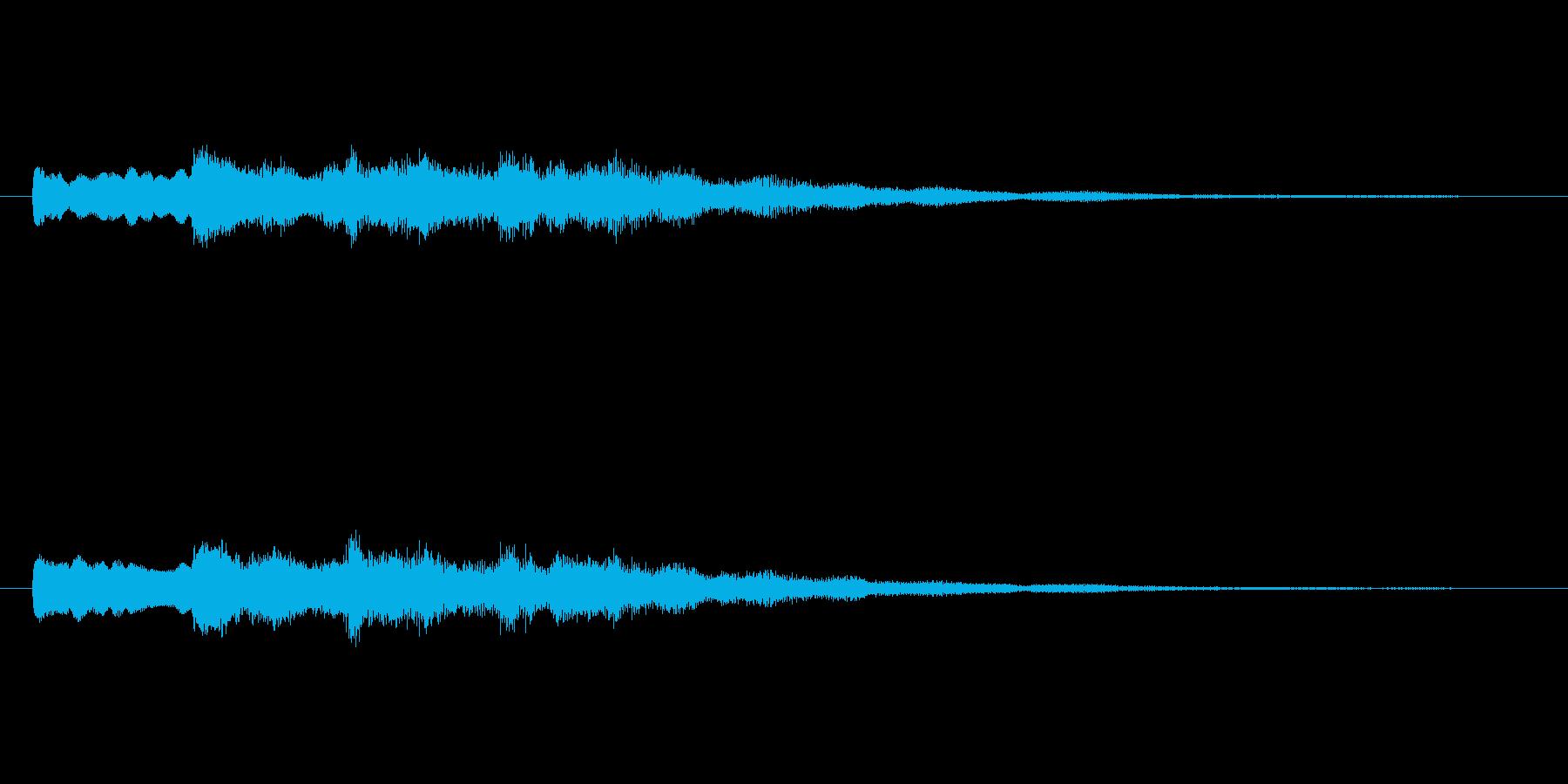 【チャイム 学校03-12】の再生済みの波形