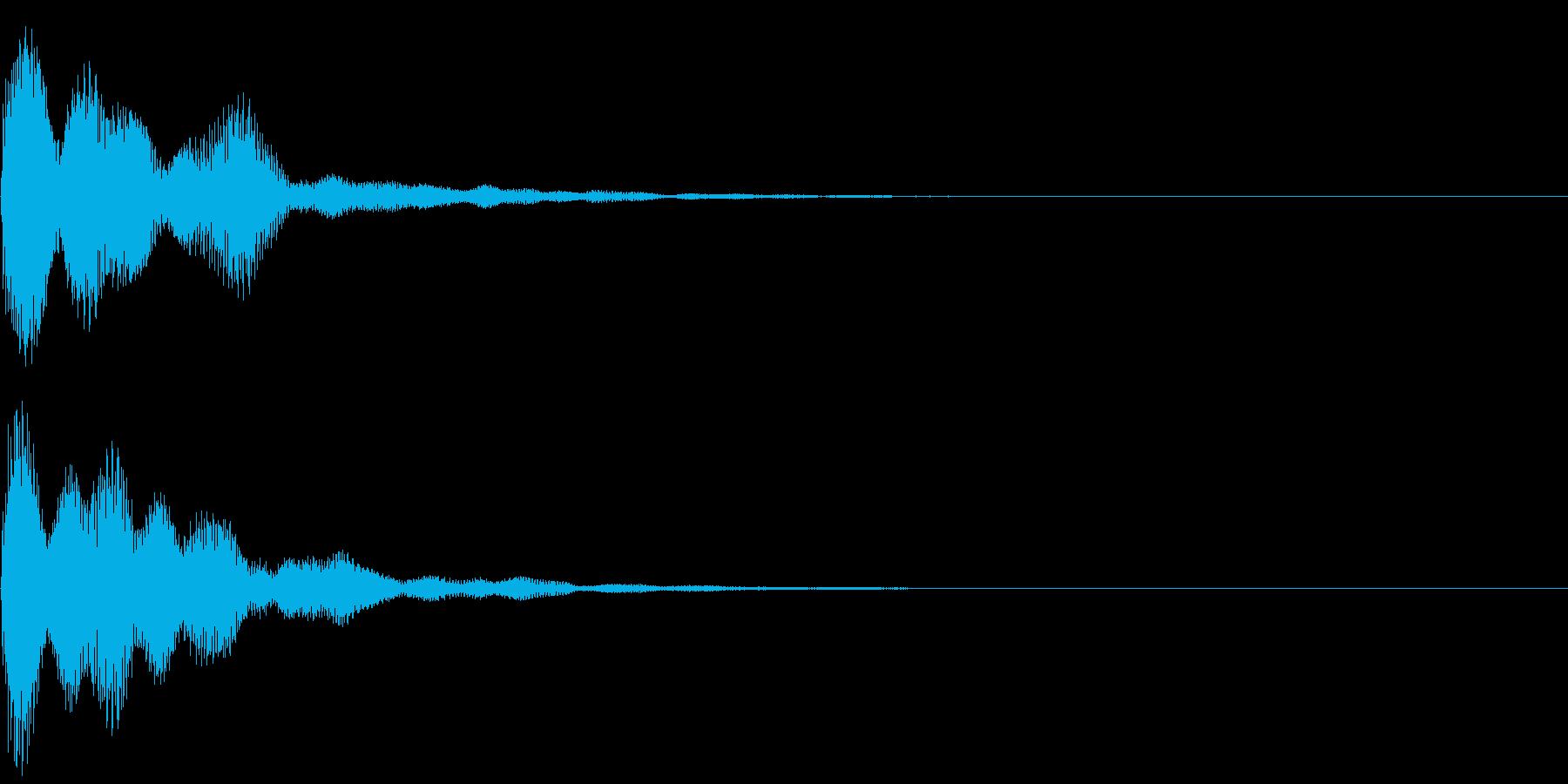柔らかく丸みのある汎用性の高い音です。の再生済みの波形