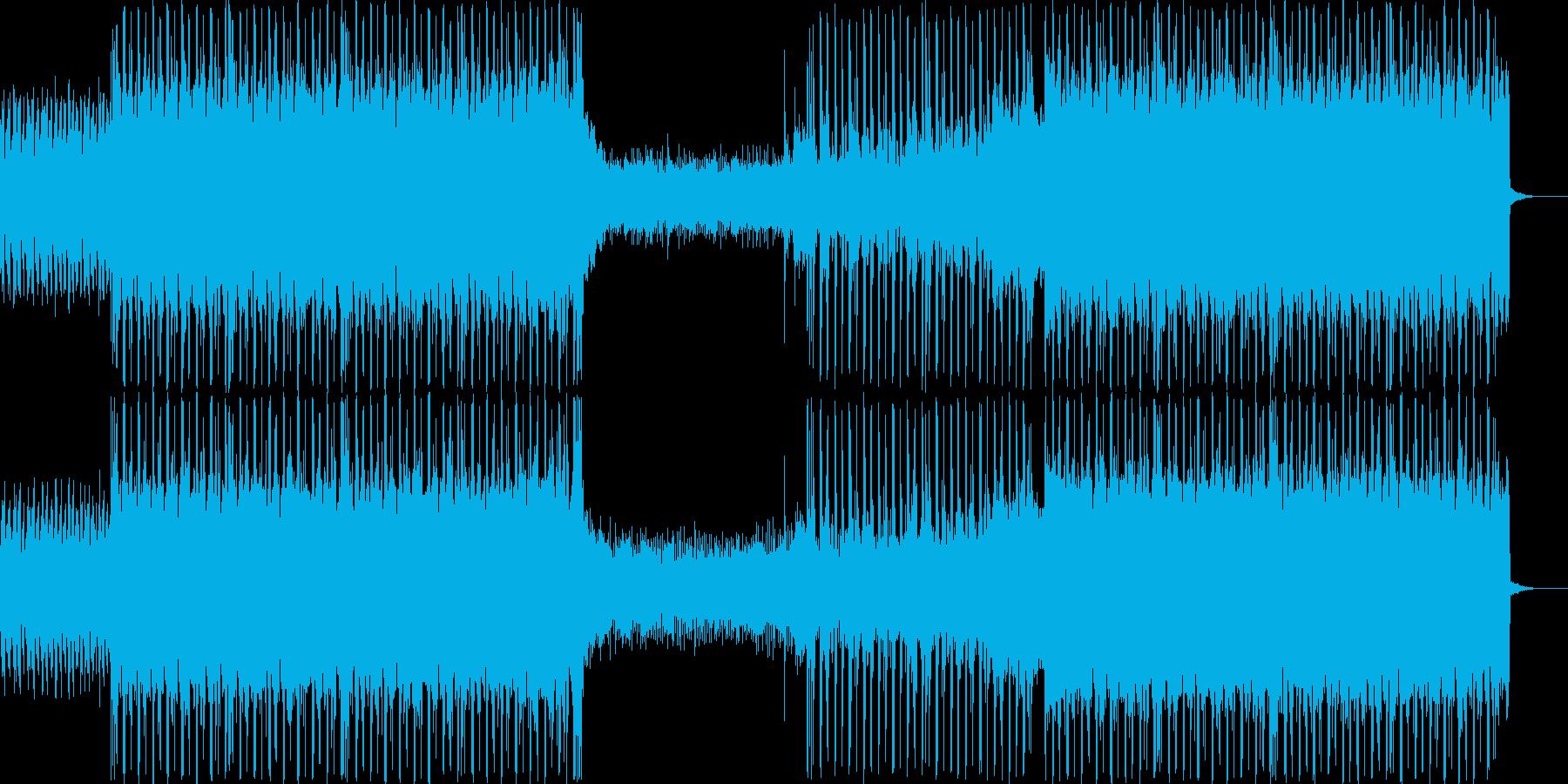 #ハード #エレクトロ #ヒップホップの再生済みの波形