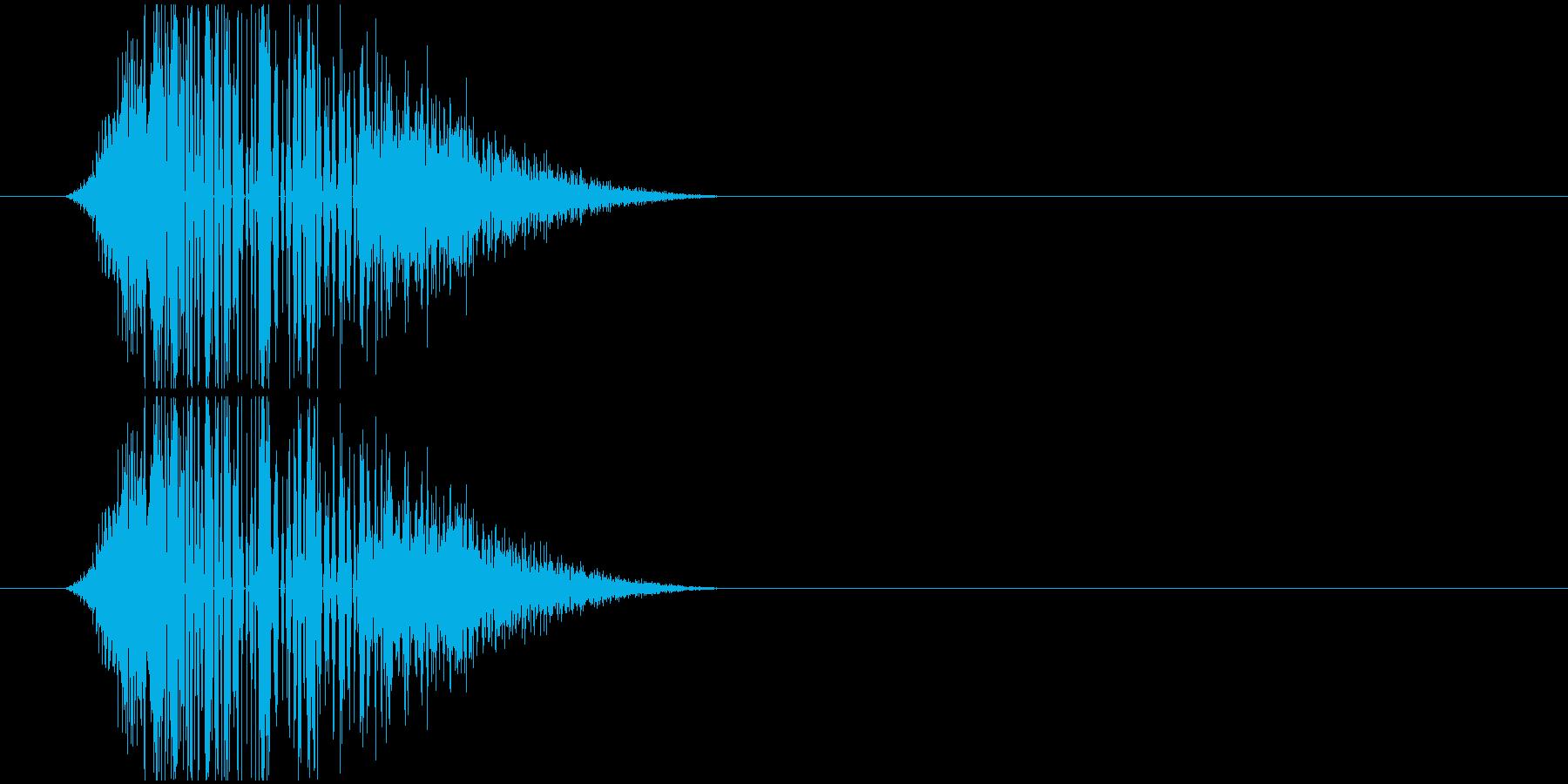 スライディングの再生済みの波形