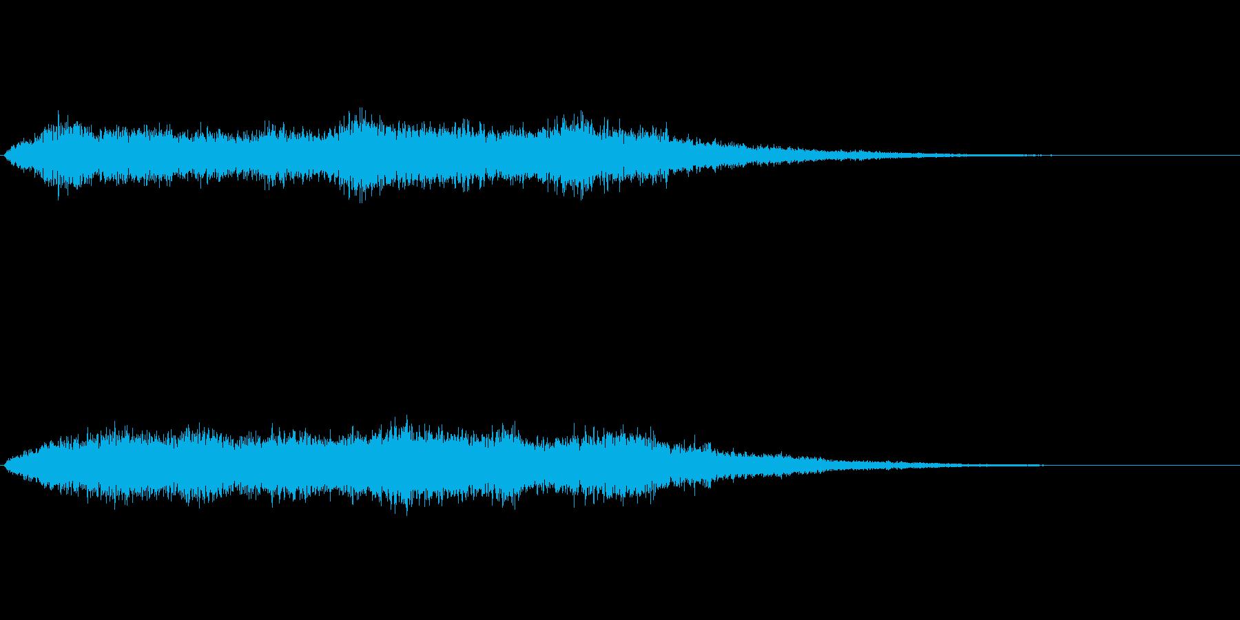 光に包まれたような神秘的な音ですの再生済みの波形