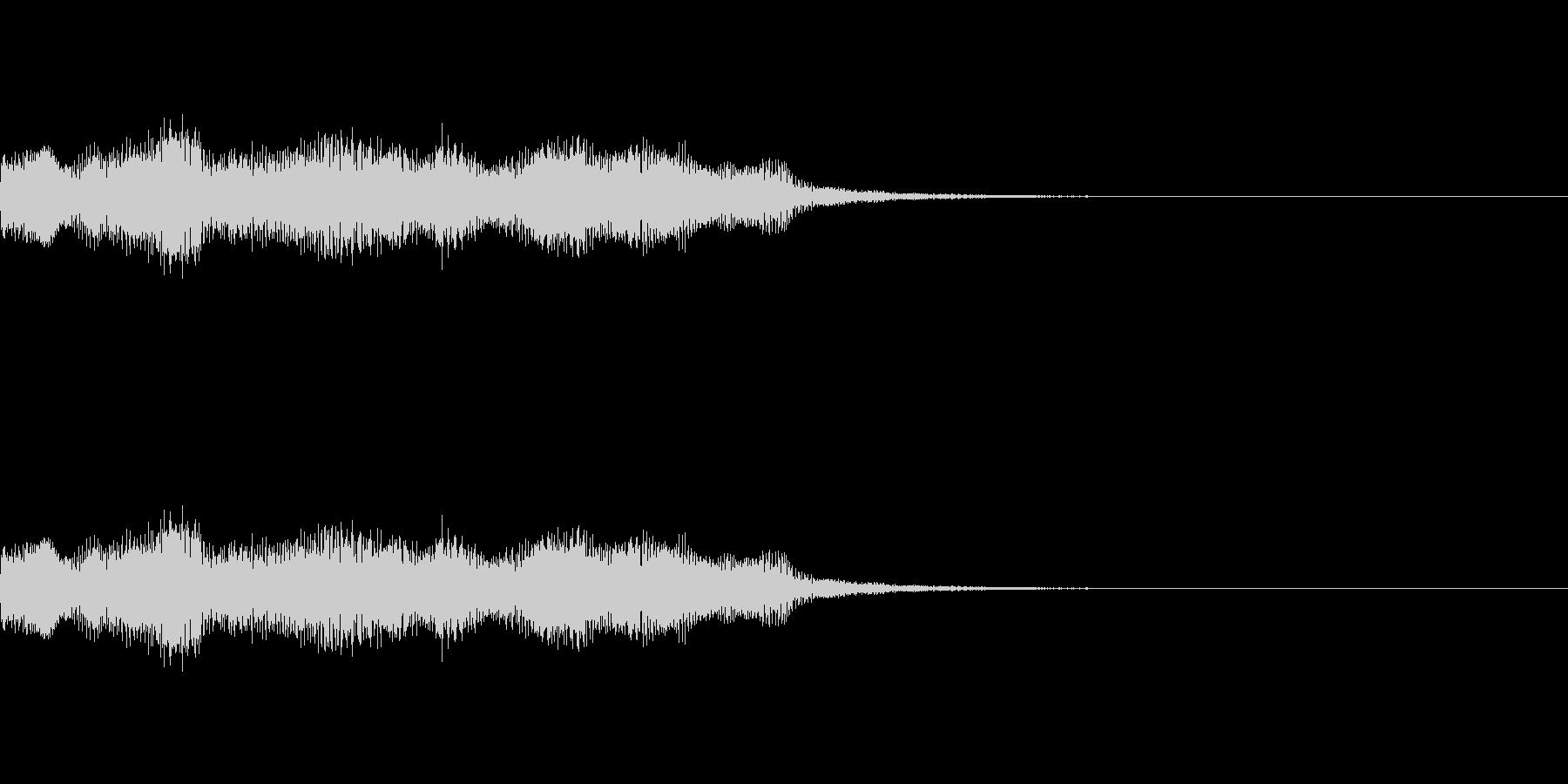 ミッションクリアジングル レトロゲーム風の未再生の波形