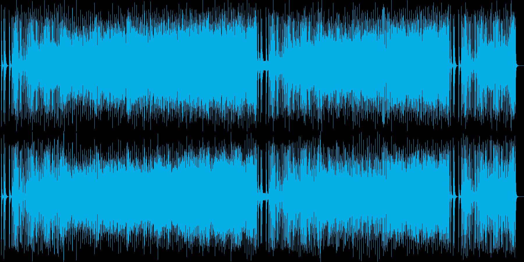 展開が魅力的なシンセサイザーポップスの再生済みの波形