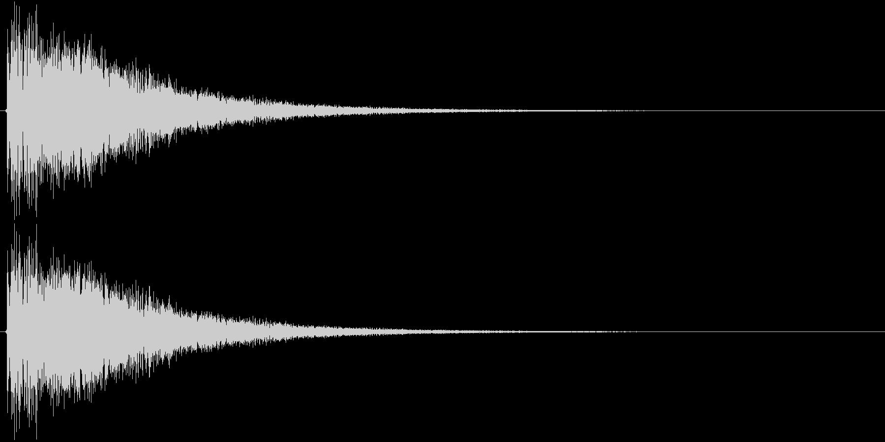 バゴーンの未再生の波形