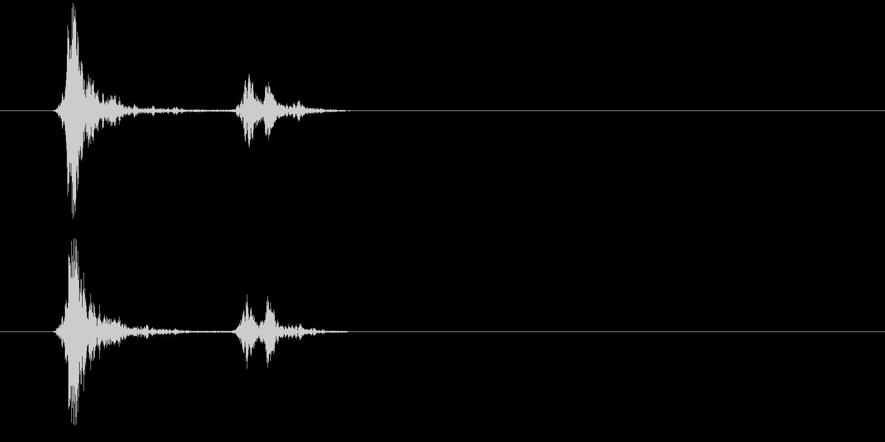 152スウィッチ音3の未再生の波形