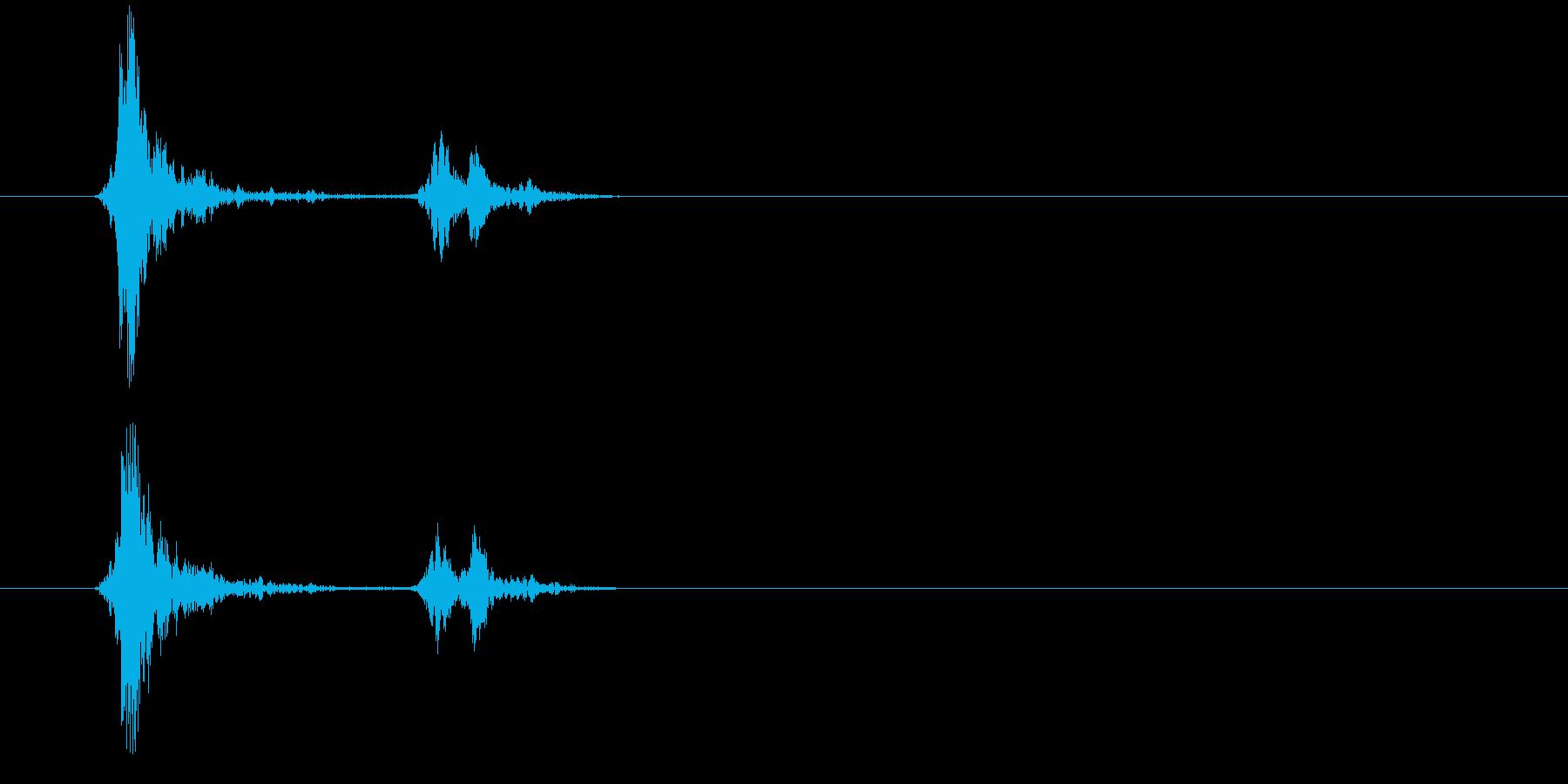 152スウィッチ音3の再生済みの波形
