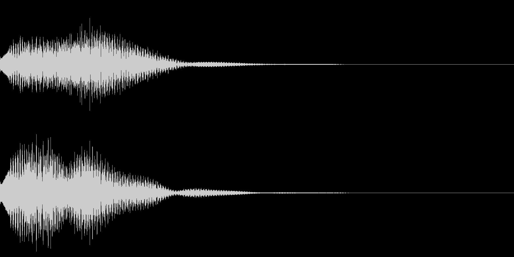 キラリン03の未再生の波形