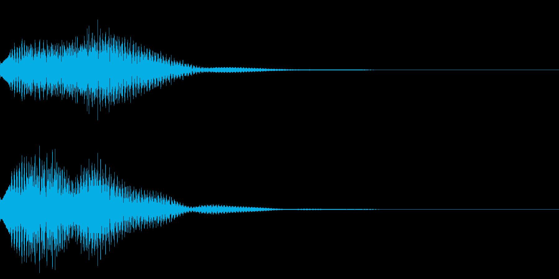 キラリン03の再生済みの波形