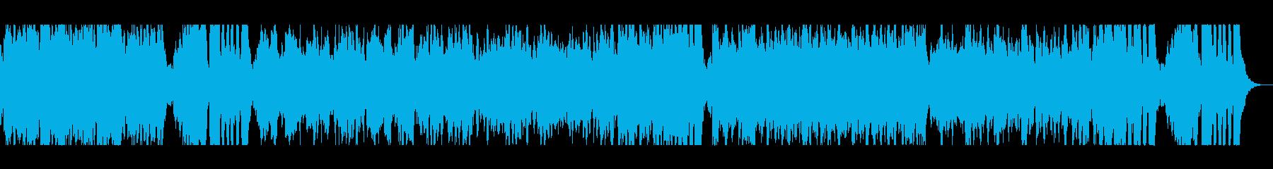 RPGのOPのような壮大な感じの曲の再生済みの波形