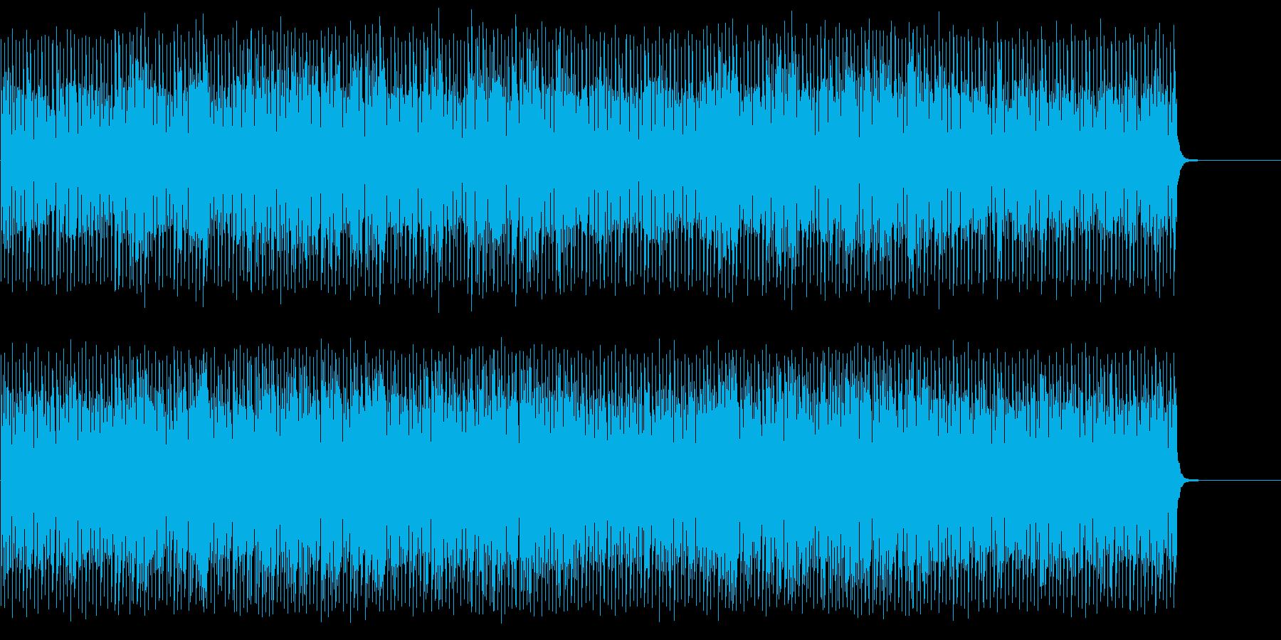 夏をイメージした楽曲の再生済みの波形