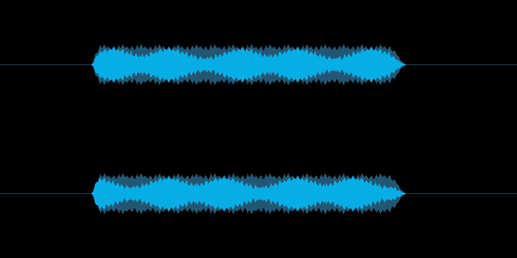 【汎用・セリフ音等】ピッ(さらに高)の再生済みの波形