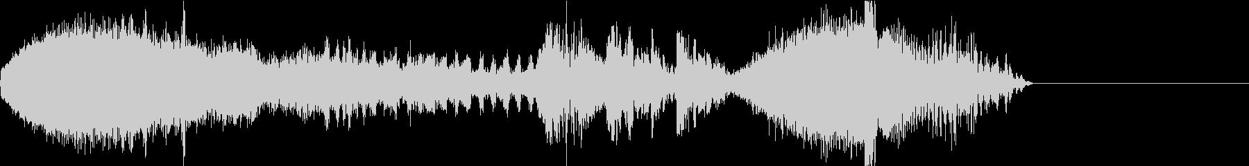 FMラジオ的ジングル7の未再生の波形