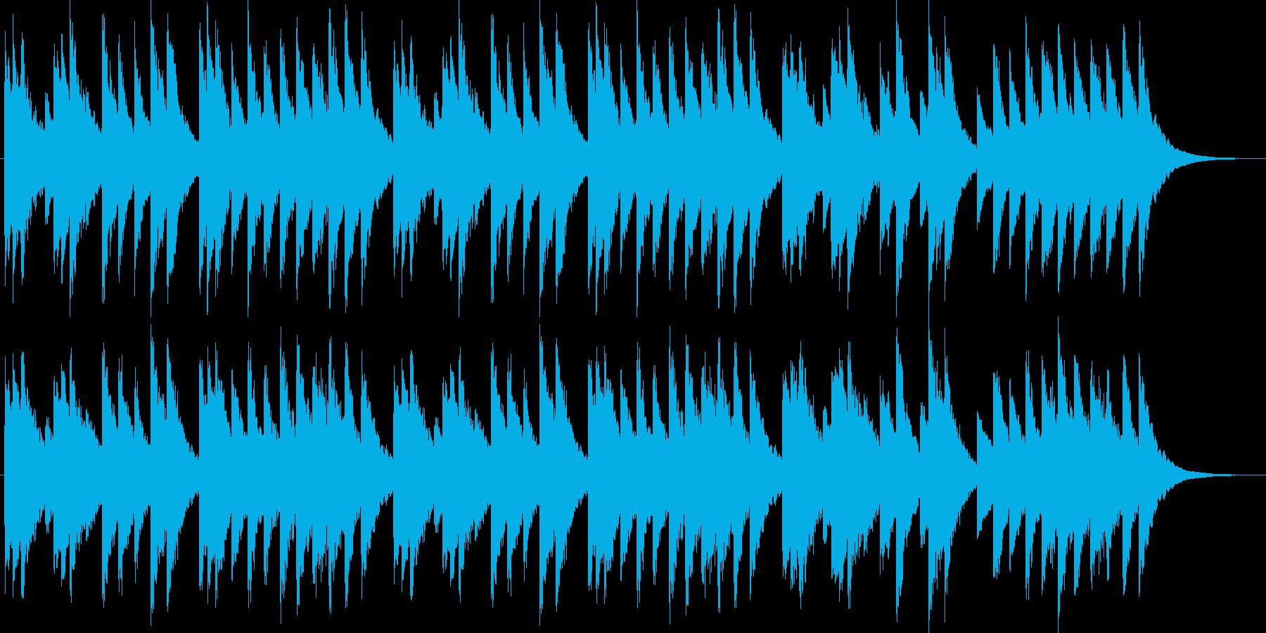 牧人ひつじをのオルゴールの再生済みの波形