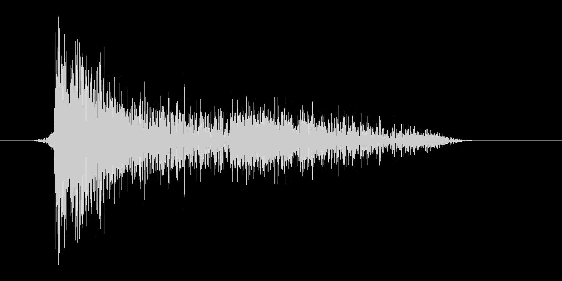 ゲーム(ファミコン風)爆発音_043の未再生の波形
