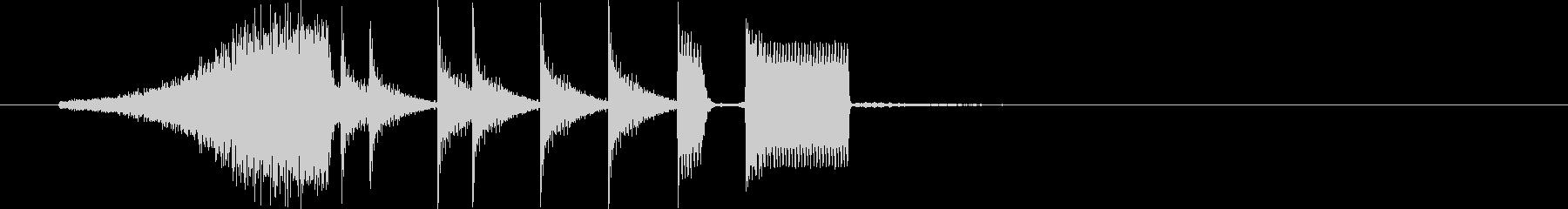 シャーンタカンタタンタンピー(楽しい)の未再生の波形