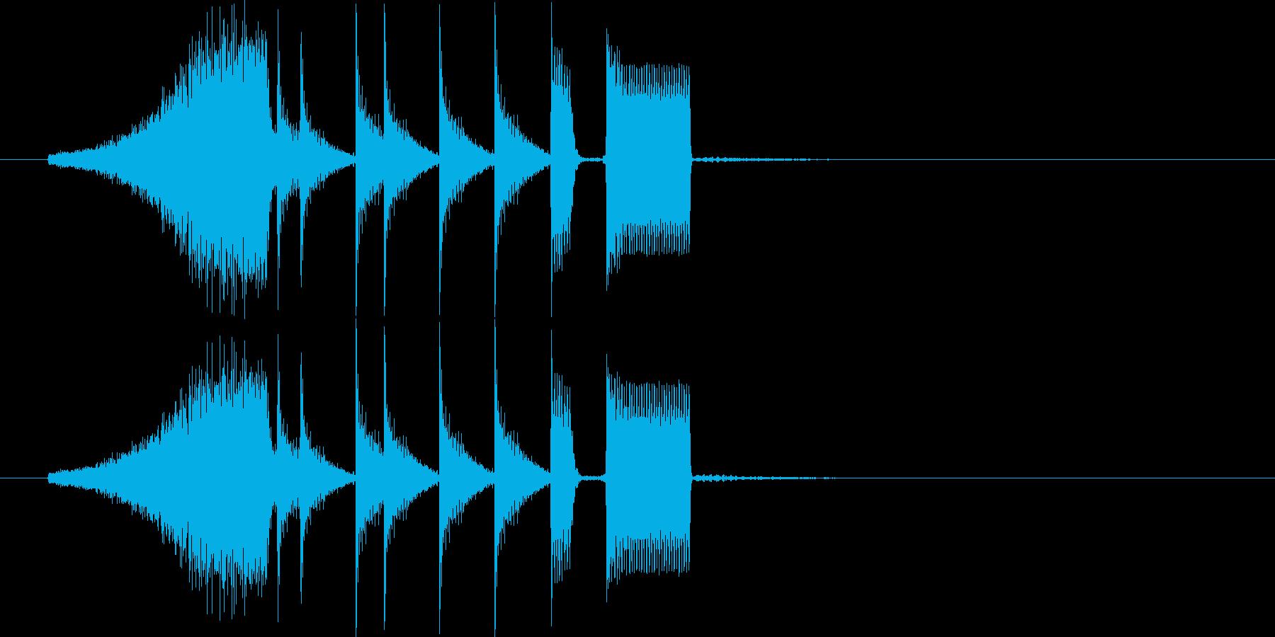 シャーンタカンタタンタンピー(楽しい)の再生済みの波形