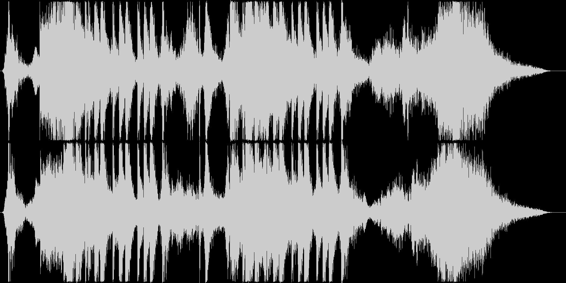 トレーラー/シンセ+打楽器*奇妙・不思議の未再生の波形