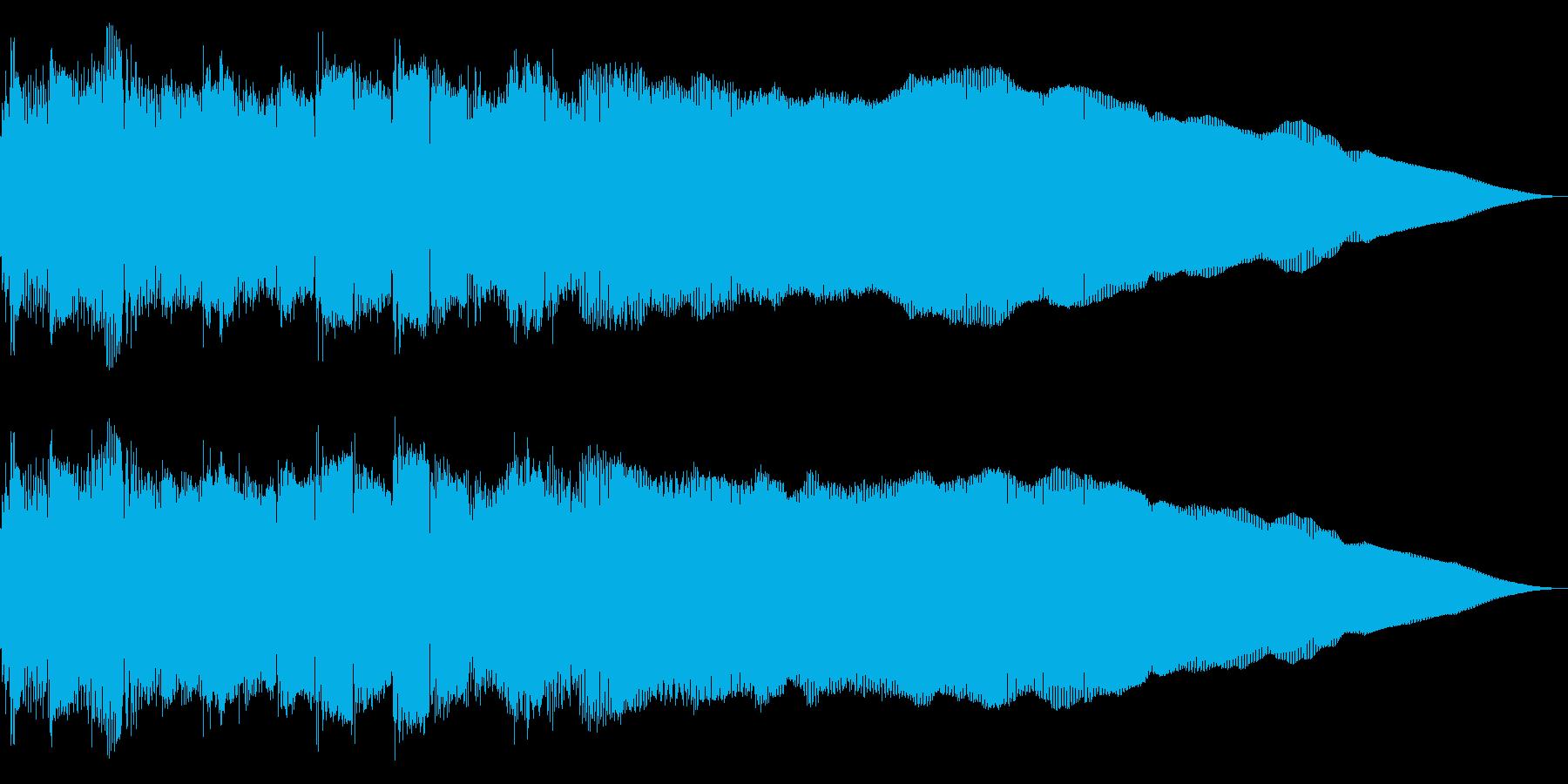 ネオクラシカルなメタルギター・フレーズの再生済みの波形