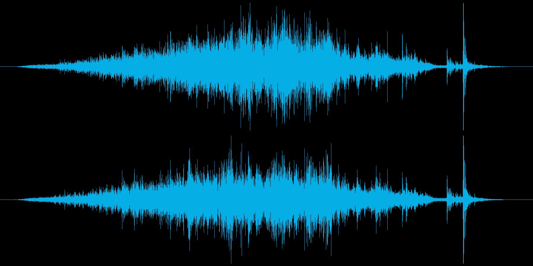 メジャー巻尺(コンベックス)シャーッカッの再生済みの波形