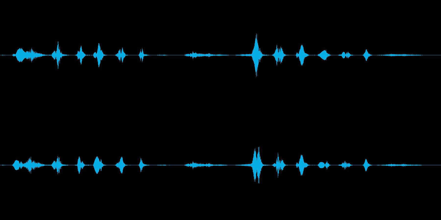 ドゥフッフッフッフ・・フヒッヒッヒ・・・の再生済みの波形