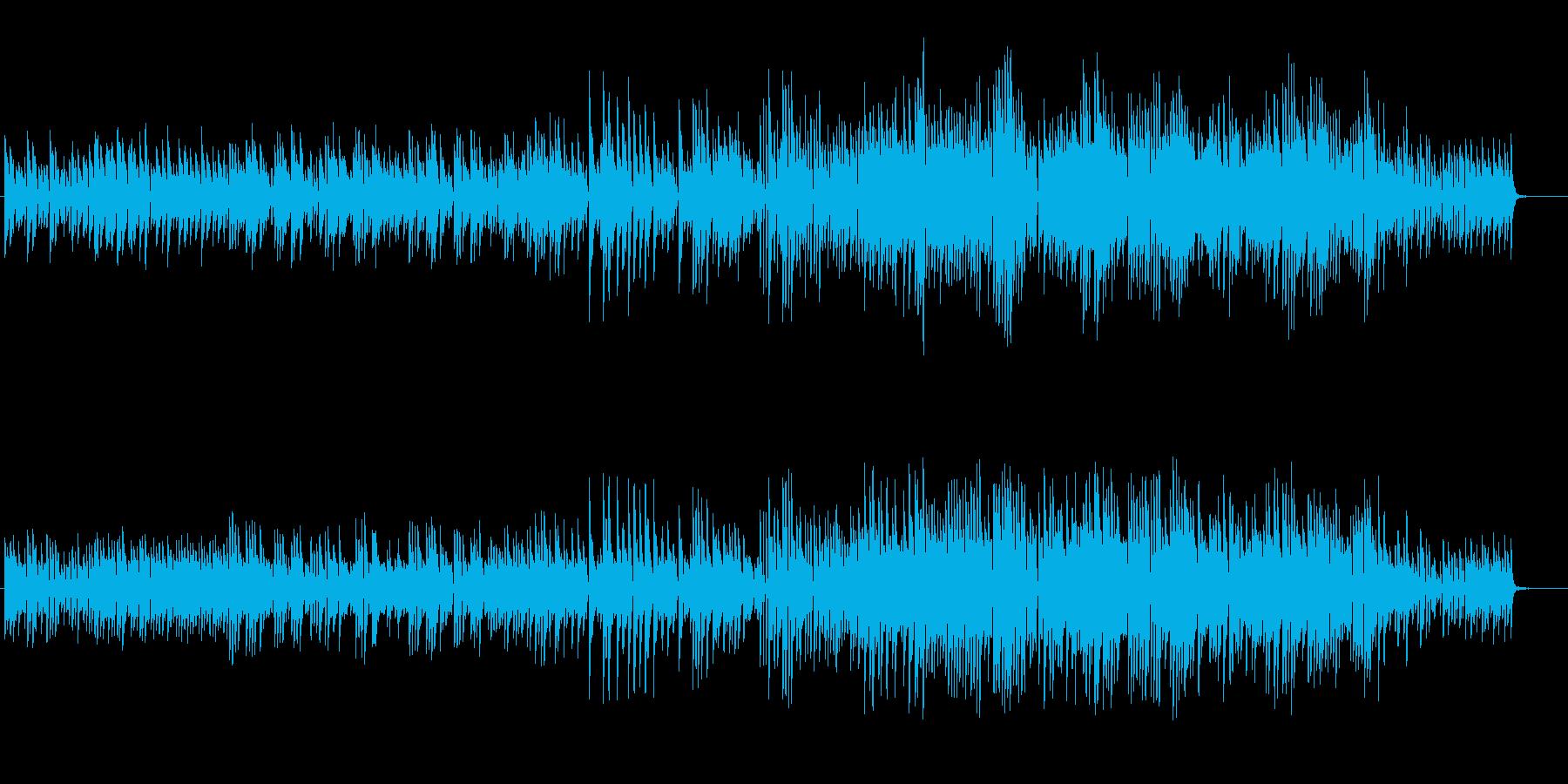 懐かしさを感じる癒しのピアノの再生済みの波形