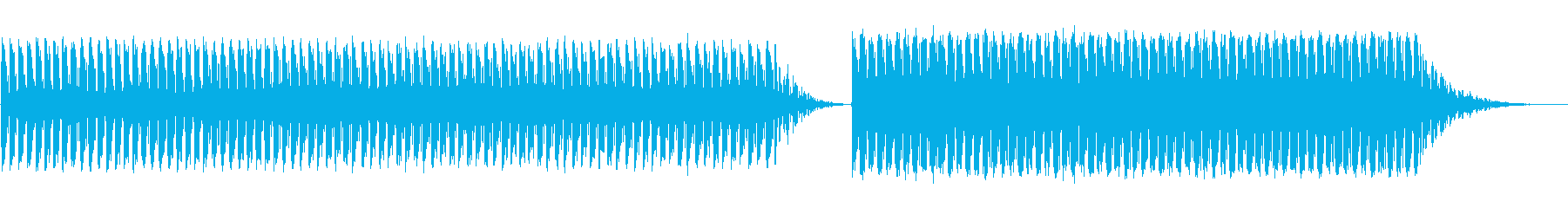 【Lofi】とにかくやかましいアラーム音の再生済みの波形