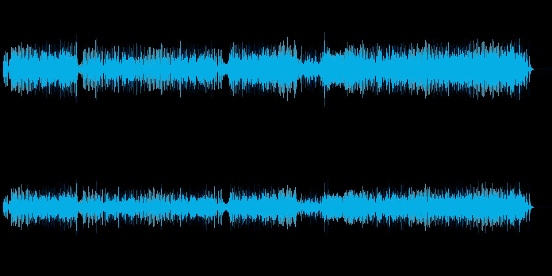 ウキウキ、ブギウギ元気なポップスの再生済みの波形