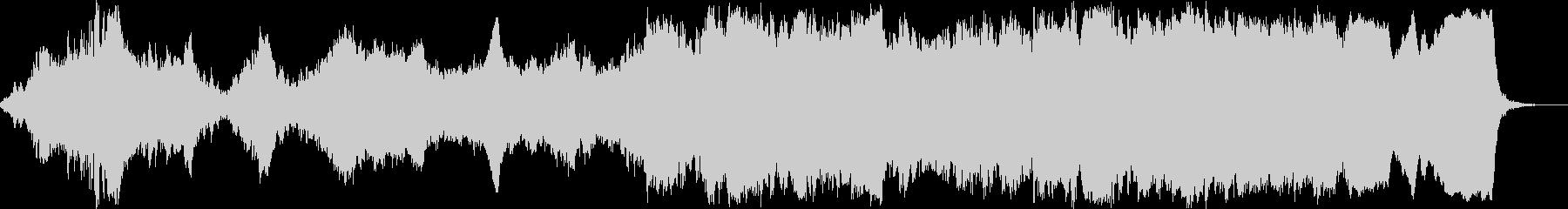 科学番組やナレーション向けBGMの未再生の波形