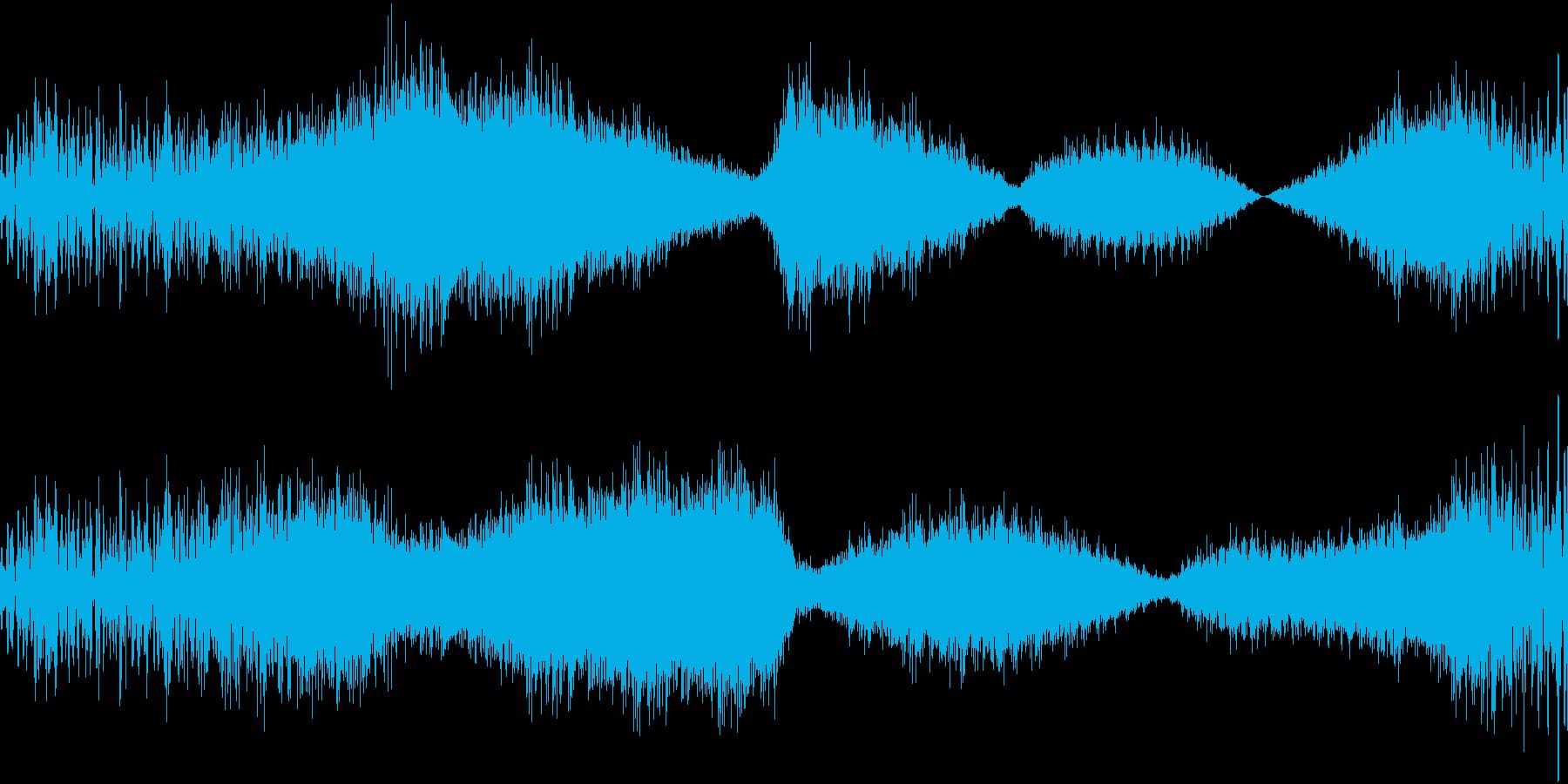 RadioSFX ラジオや生配信向けSEの再生済みの波形