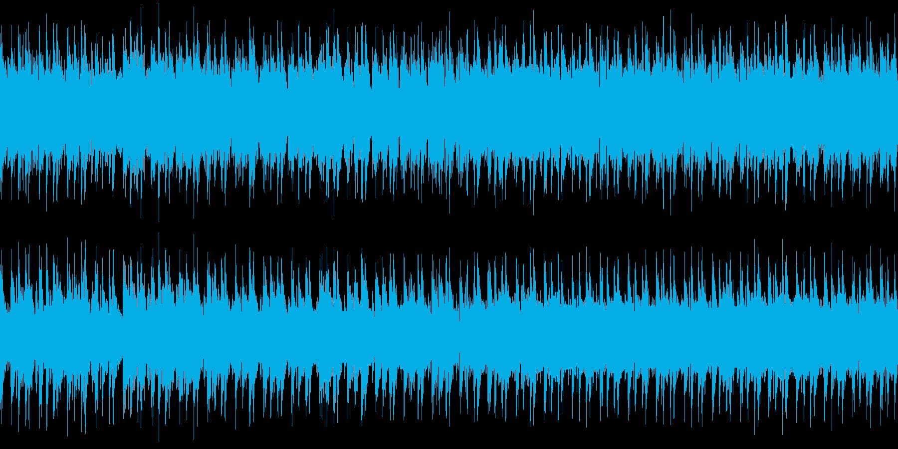 jazzを意識したシンプルなBGMの再生済みの波形