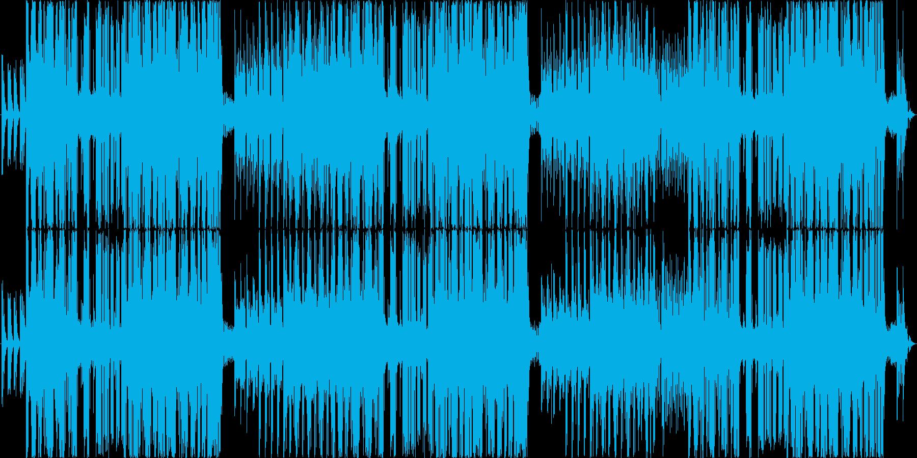 和楽器+DJの再生済みの波形