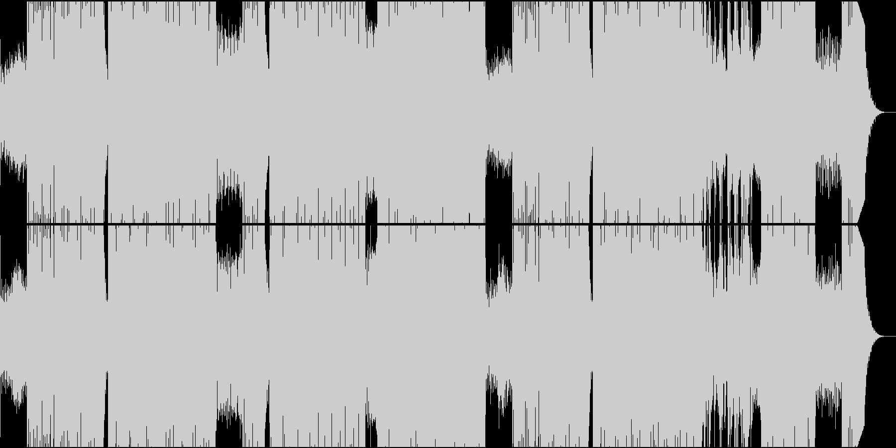 みんなで盛り上がる時に聴きたいEDMの未再生の波形
