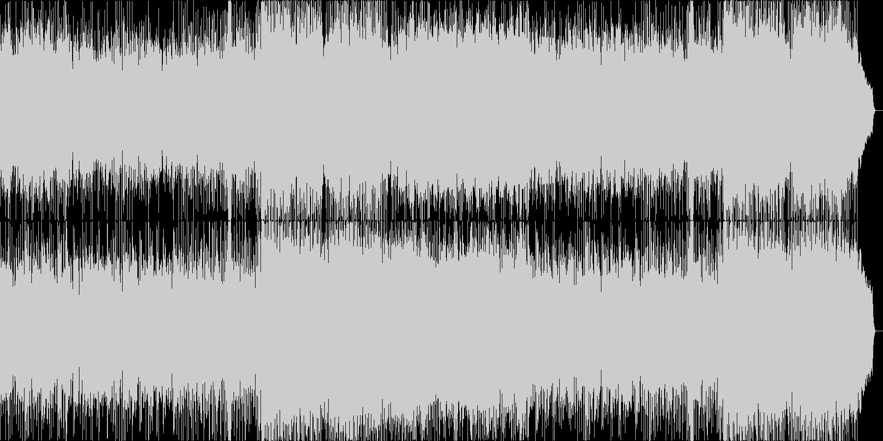 ポールモーリアのエーゲ海の真珠風の曲の未再生の波形