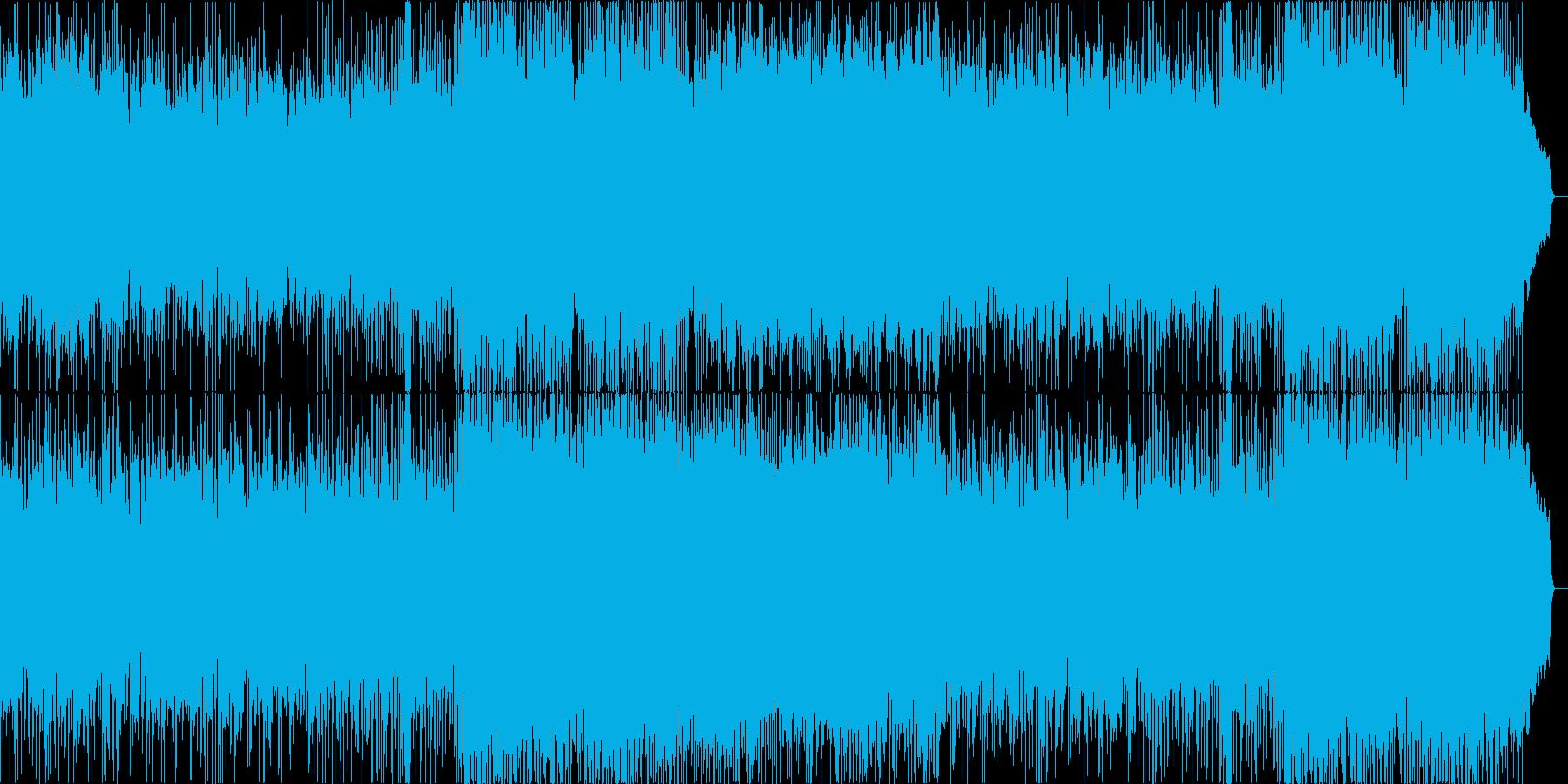 ポールモーリアのエーゲ海の真珠風の曲の再生済みの波形